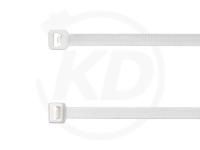 2.5 x 98 mm Kabelbinder, weiß, 100 Stück