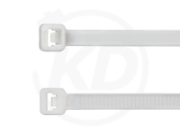 4.8 x 200 mm Kabelbinder, weiß, 100 Stück