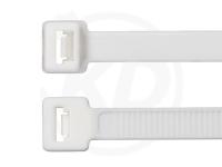 7.8 x 365 mm Kabelbinder, weiß, 100 Stück