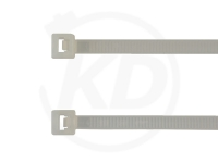 3.6 x 370 mm Kabelbinder, natur, 100 Stück