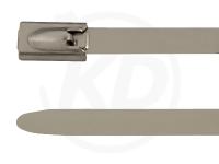 4.6 x 200 mm Edelstahlbinder, 316 SS, 100 Stück