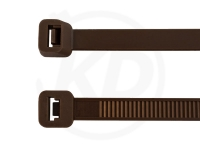3.6 x 290 mm Kabelbinder, braun, 100 Stück