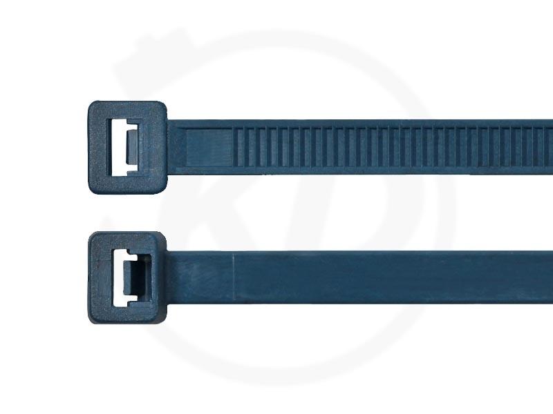 Kabelbinder 2,6x100 mm in Grau 100 Stück