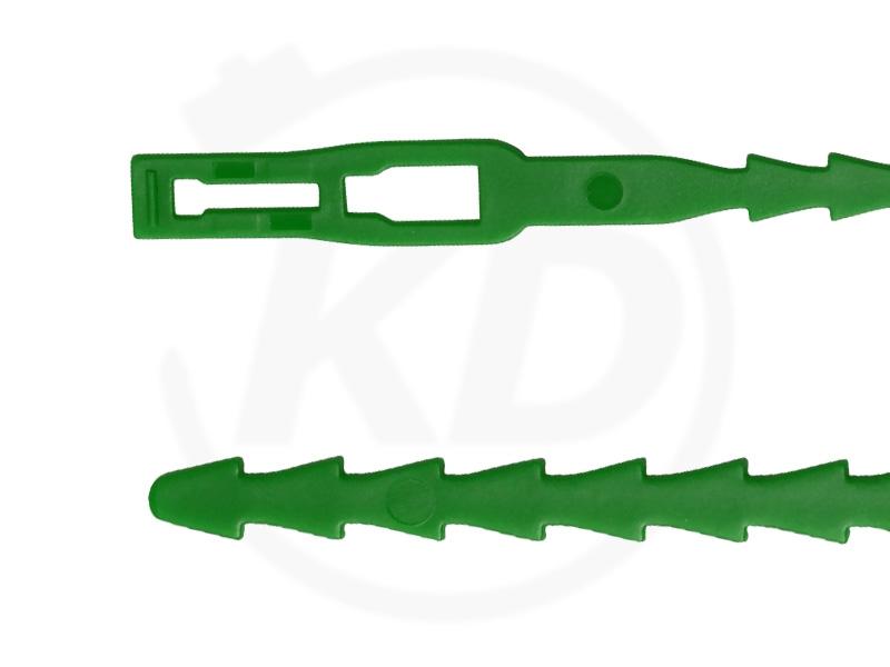 Kabelbinder GRÜN in Industriequalität 4,8x200 mm 100 Stück