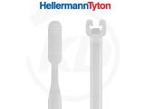Hellermann Q-tie Kabelbinder 2,6 x 155 mm, natur 100 Stück