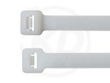 Kabelbinder außenverzahnt 7,6 x 390 mm, natur