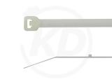 Kabelbinder mit Stopper 3,6 x 300 mm, natur