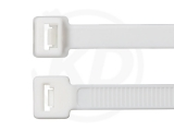 7,8 x 750 mm Kabelbinder, weiß 100 Stück