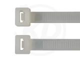 7,8 x 300 mm Kabelbinder, natur 100 Stück
