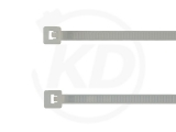 2,6 x 380 mm Kabelbinder, natur 100 Stück