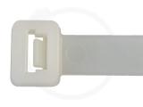 12,6 x 1000 mm Kabelbinder, natur 100 Stück