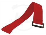 Klettbinder mit Umlenköse, 25 x 350 mm, rot, 10 Stück