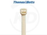 T & B - Kabelbinder mit abklemmbarem Ende, 4,7 x 358 mm, natur, 50 Stück