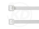 Kabelbinder aus Polypropylen, 4,8 x 300 mm,weiß 100 Stück