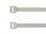 T & B - Bakterienresistente Kabelbinder, 4,6 x 195 mm beige, 100 Stück