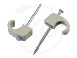 Nagelclips 10 - 14 mm mit 40 mm Nagel, 100 Stück