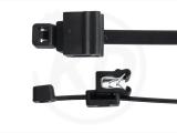 Kabelbinder mit Edge-Clip, 4,8 x 200 mm, schwarz 100 Stück
