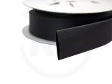 Schrumpfschlauch-Box, 38,1 mm, schwarz, 3 m