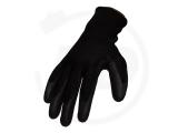 Nylon gloves with nitrile coating, sanded, size 8