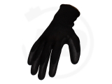 Nylon gloves with nitrile coating, sanded, size 10