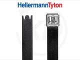 Hellermann KB 16,0 x 681 mm, Edelstahl, für Doppelbündelung, beschichtet, 100 Stück
