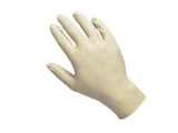 Vinyl disposable gloves size L, 100 pcs.
