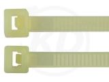 Kabelbinder Hitzestabilisiert, 4,8 x 200 mm 100 Stück