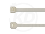 4.8 x 200 mm highly heat-resistant cable ties, 100 pieces