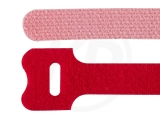 Klettbinder, rot, 12,5 x 130 mm, 20 Stück