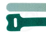 Klettbinder, grün, 12,5 x 130 mm, 20 Stück