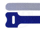 Klettbinder, blau, 12,5 x 205 mm, 20 Stück