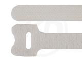Klettbinder, weiß, 12,5 x 205 mm, 20 Stück
