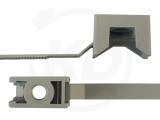 Kabelbinder mit Schraubhalter, 7,8 x 280 mm, 100 Stück
