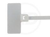 2,5 x 110 mm Kabelbinder, mit Beschriftungsfeld 100 Stück