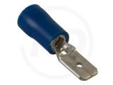 Flachstecker, isoliert,  4.8 mm, 1.5 - 2.5mm², 100 Stück