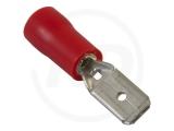 Flachstecker, isoliert, 4.8 mm, 0.5 - 1.5mm², 100 Stück