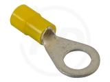 Ringkabelschuhe, 2.5 - 6.0 mm², M6, 100 Stück