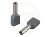 Aderendhülsen, zweifach, 23mm, 4.0mm², 100 Stück