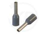 Aderendhülsen, isoliert, 12mm, 6mm, 0.75mm², 100 Stück