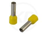 Aderendhülsen, isoliert, 20mm, 12mm, 6.0mm², 100 Stück