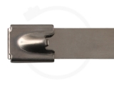 12,0 x 840 mm Edelstahlbinder mit Kugelfixierung 100 Stück
