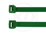 4,8 x 200 mm Cable ties, green 100 pieces