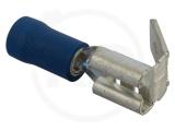 Flachsteckhülse mit Abzweig, 1.5 - 2.5 mm², 100 Stück