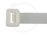 9,0 x 450 mm Kabelbinder, natur 100 Stück