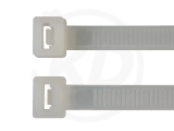 6,8 x 150 mm Kabelbinder, natur 100 Stück