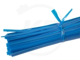 Bindestreifen, 10 cm, blau, 500 Stück