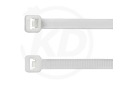 4,8 x 290 mm Cable Ties, white 100 pieces