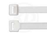 7,8 x 365 mm Kabelbinder, weiß 100 Stück