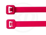 3,6 x 140 mm Kabelbinder, neonpink 100 Stück