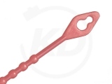 Mehrzweck-Binder, 2,5 x 180 mm, rot, 100 Stück
